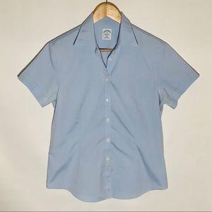 Brooks Brothers blue oxford non-iron shirt, Sz 10